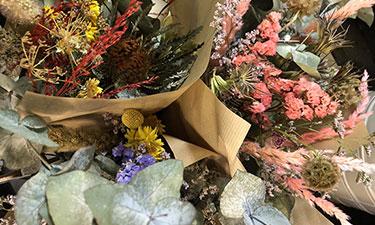 Bouquets de fleurs séchées à Seclin