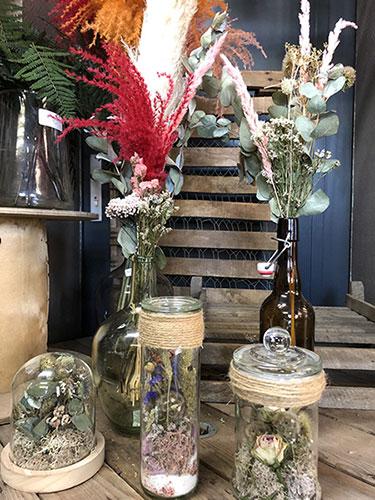 Vente de fleurs séchées à Seclin